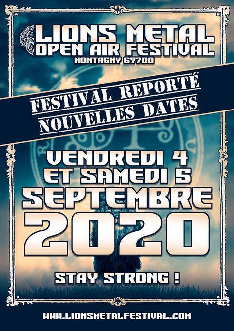 LIONS METAL FESTIVAL - Report en Septembre