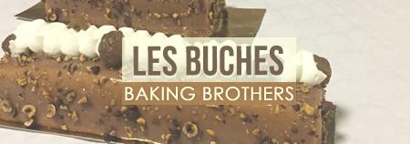 Découverte des bûches de Noël Baking Brothers !