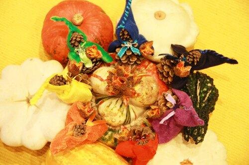 Saint-Martin: les nains aux luternes