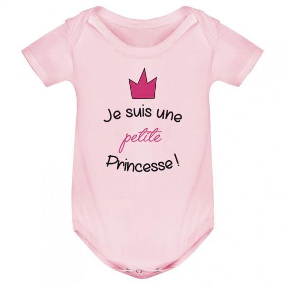1.2.3 Soleil! - Body bébé Je suis une petite princesse - pas cher ...