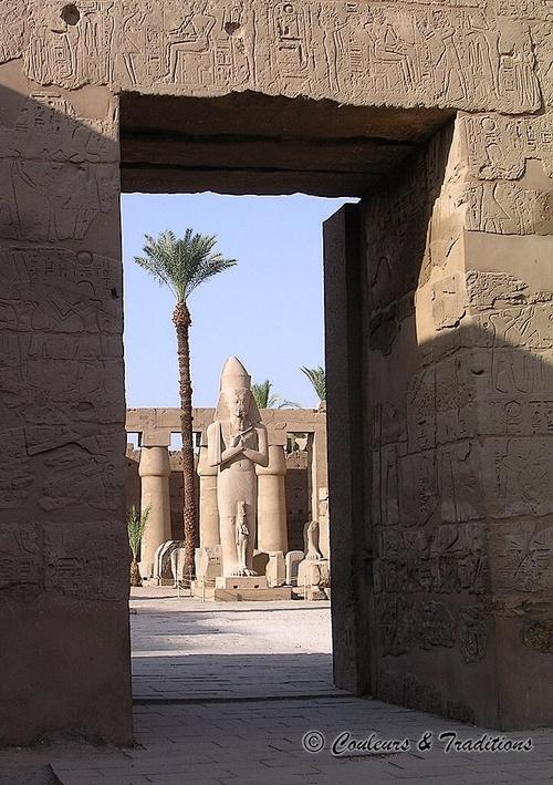 Le temple reposoir de Ramses III