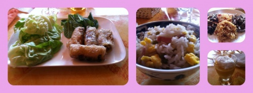 Mon repas chinois