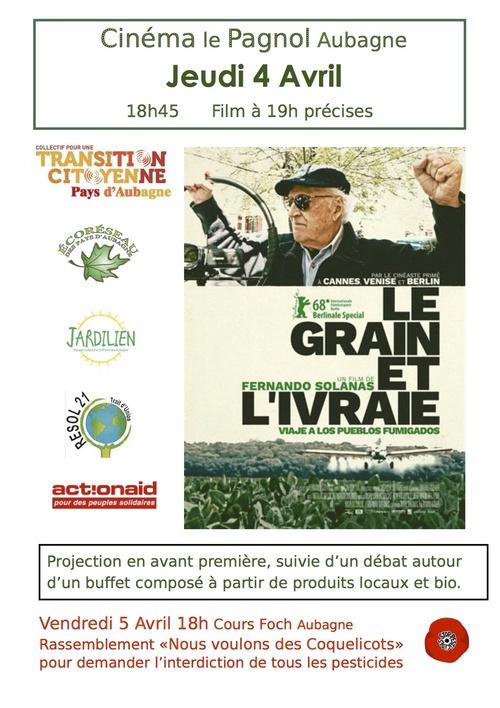 """Projection """"Le grain et l'ivraie"""""""