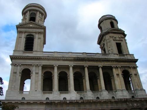 La place Saint Sulpice