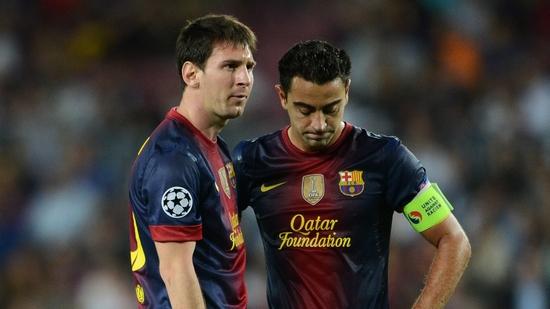 Messi-Xavi