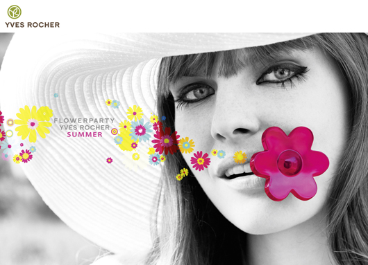 Le parfum Flowerparty Summer by Yves Rocher