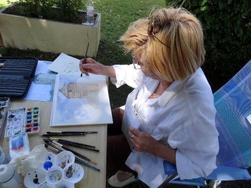 les peintres à Villaines