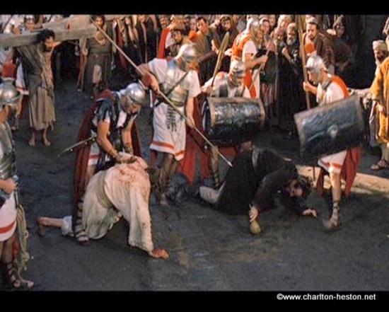 BEN HUR : CHEMIN DE CROIX ET CRUCIFIXION DE JESUS
