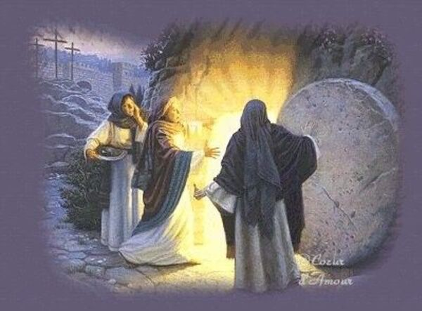 De la Pâques juive à la Pâques chrétienne. - Élisabeth