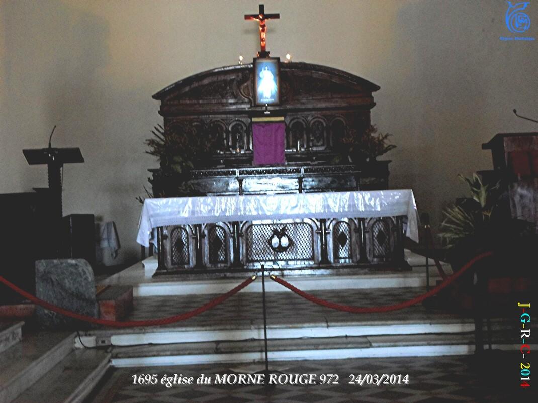 EGLISE NOTRE DAME DE LA DÉLIVRANCE 1/2  MORNE ROUGE 972 24/03/2014 27/11/2014