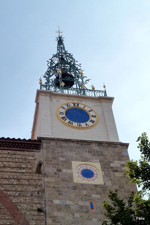 Perpignan : clocher de la cathédrale
