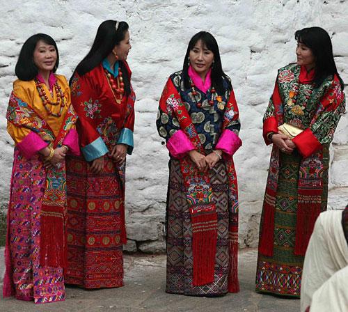 L'ancien roi du Bhoutan