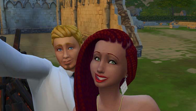 Sims 4, 72 h chrono pour se marier...part 1