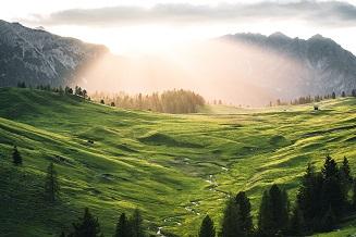 Les majestueuses Dolomites ...