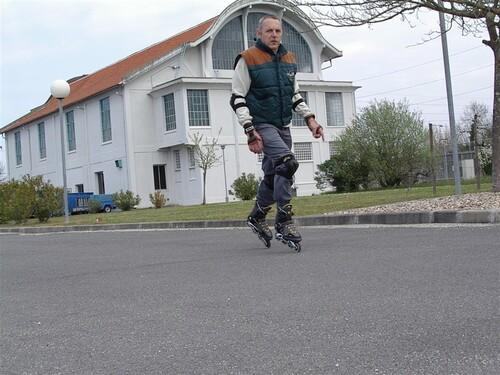3 Février 2005 à Pessac . Un peu d'entrainement