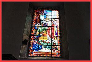 Morlaix vitraux2 église st-mathieu