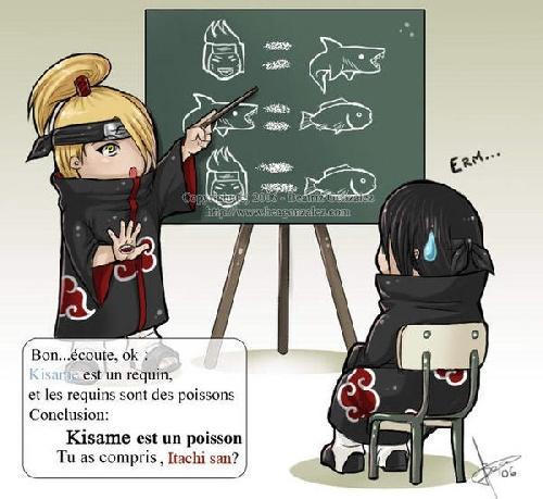 itachi et un peu kisamé