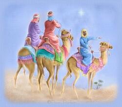 Bonne fête de l'Epiphanie ... et bonne galette des rois ... qui en fait ...