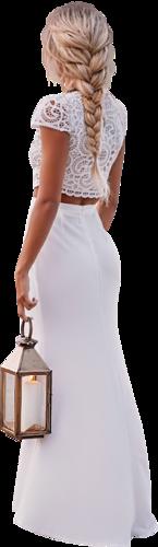 Femmes en blanc png