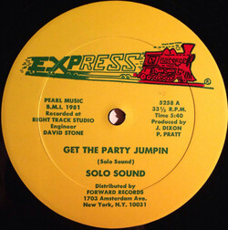 Solo Sound - Get The Party Jumpin'