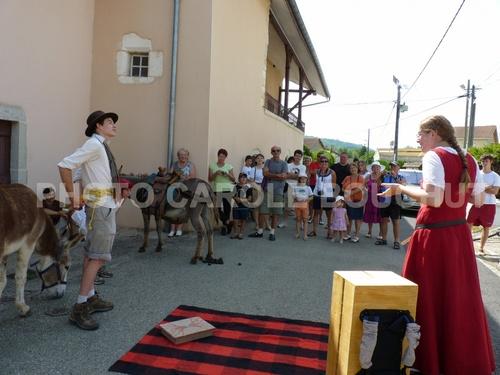La Voix des Colporteurs, édition 2012, à Lasserra