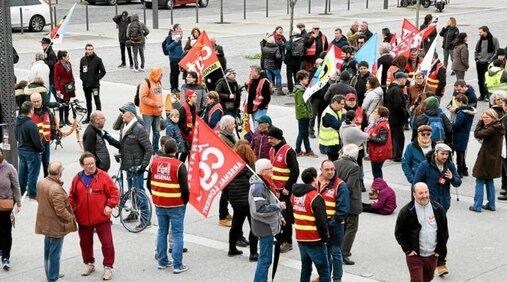 La CGT donne rendez-vous aux manifestants jeudi 17septembre, à 10h30, place Glotin, à Lorient.