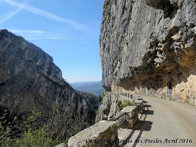 La montagne février et avril 2016 Vercors