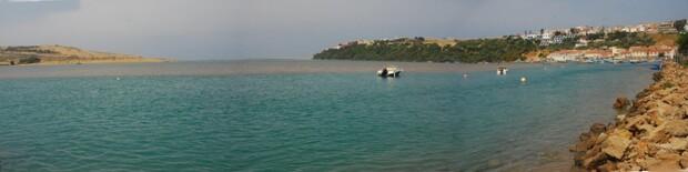 lLa lagune à marée haute
