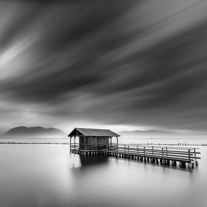 magnifiques photos en noir et blanc de l'eau par George Digalakis