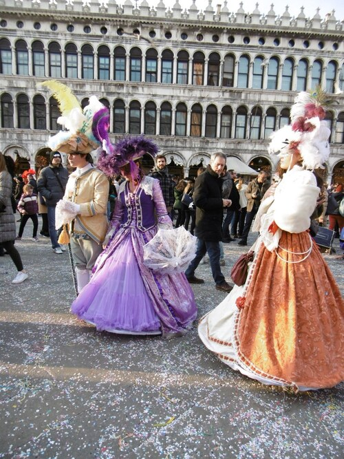 A Venise avec Nadine