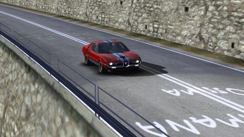 Alfa Romeo Montreal Racing 1972
