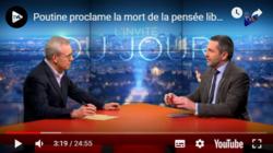 Poutine proclame la mort de la pensée libérale - Xavier Moreau - le zoom