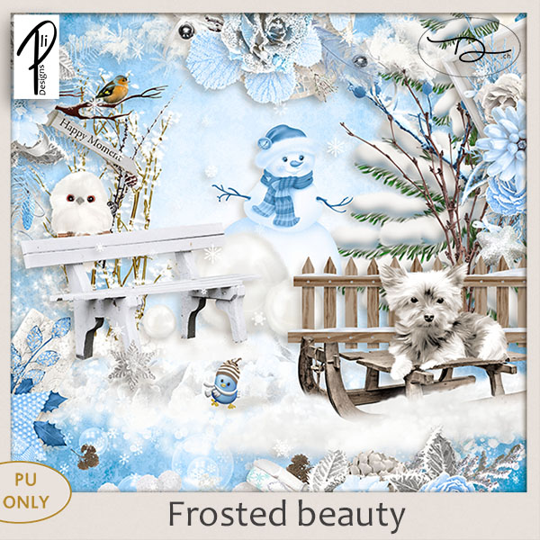 Frosted beauty (PU) PliDesigns