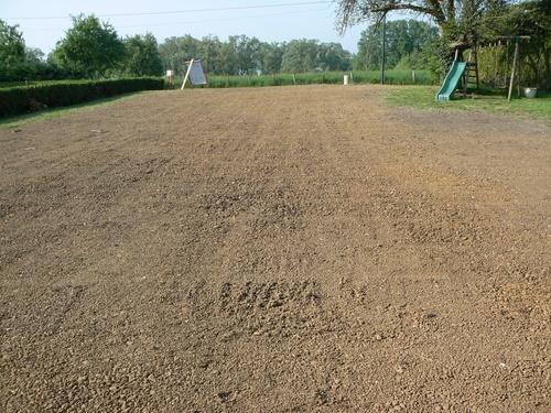 prépa terrain avant pelouse
