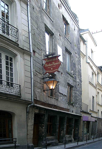 Nicolas Flamel Maison