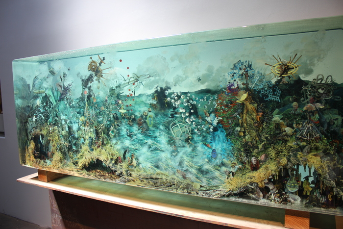 sculptures de Dustin Yellin Pour le New York City Ballet.