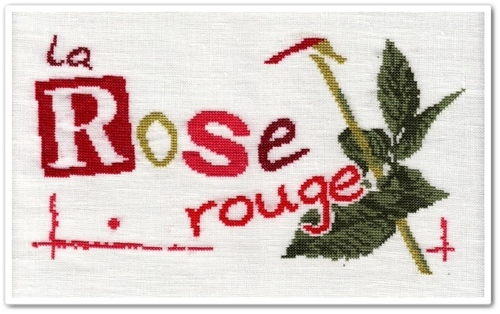 La Rose Rouge de Lilipoints 2