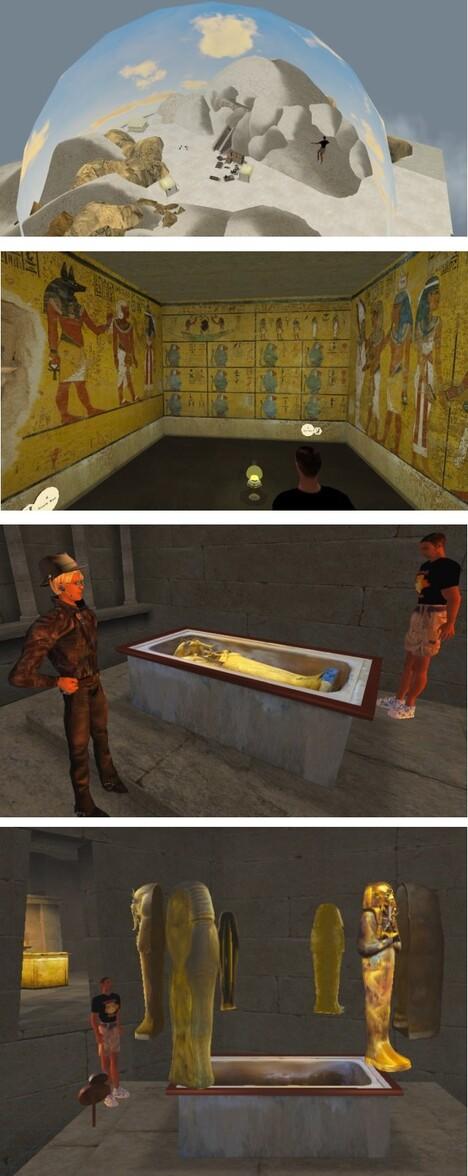 Dome et sarcophages