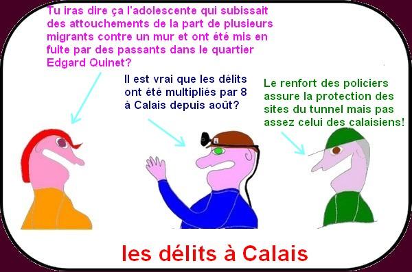 agression à Calais?