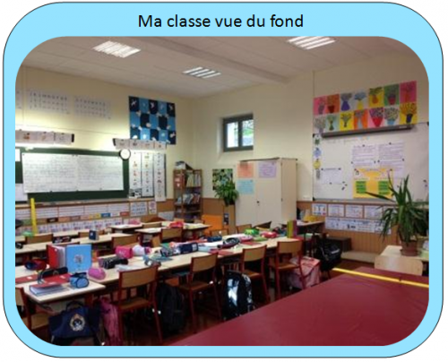 Ma classe, quelques photos