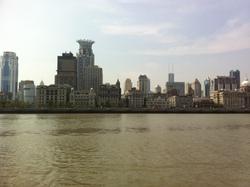 Balade fluviale sur le Huangpu