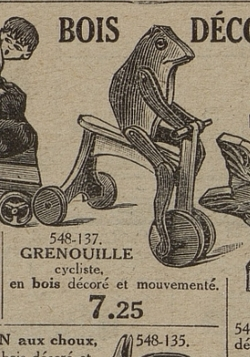 A390 la grenouille en tricycle