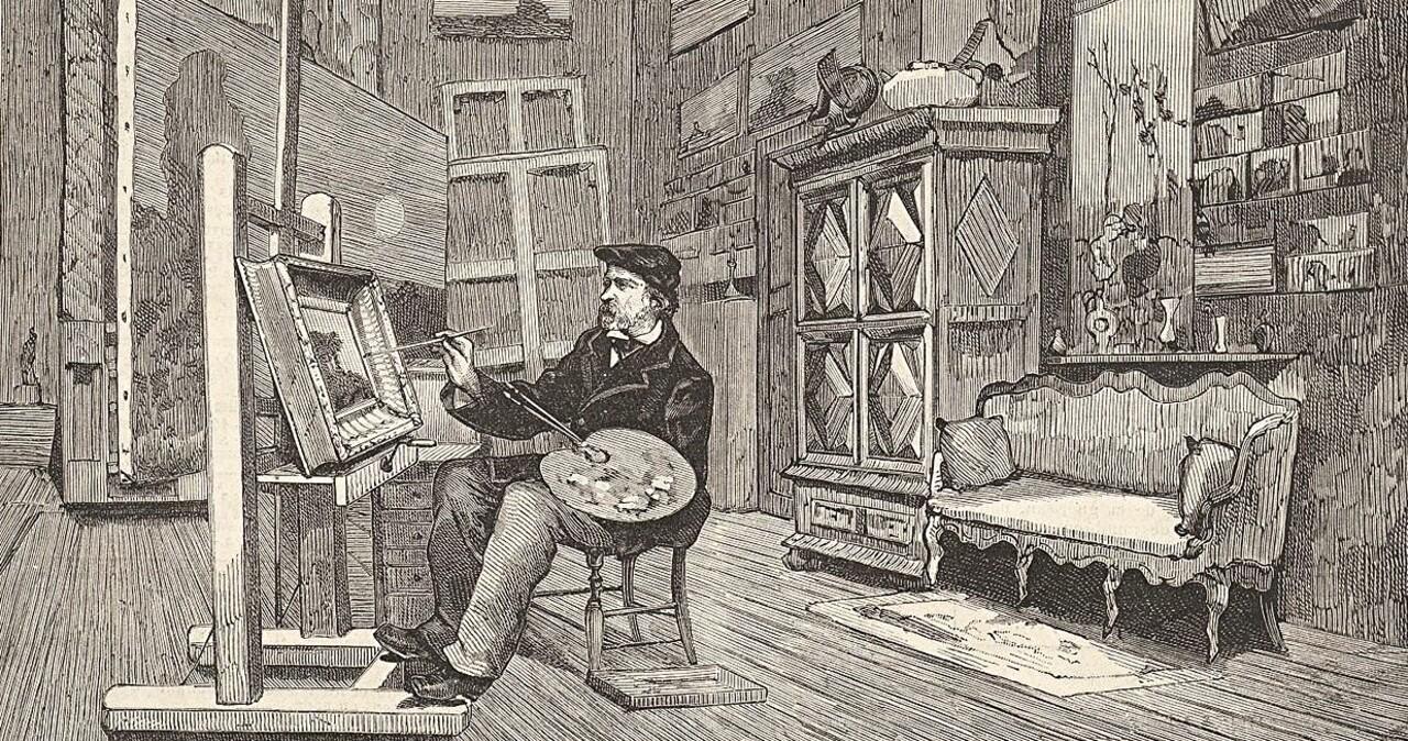 10- Daubigny / le défenseur de l'impressionnisme