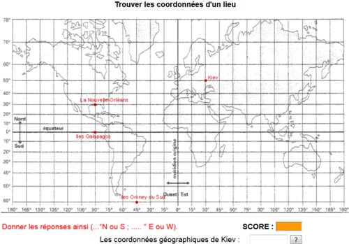 Comprendre la longitude et la latitude
