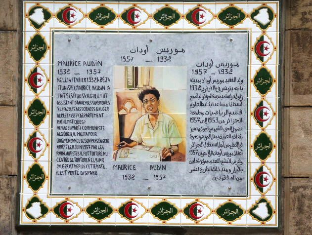 Un témoignage sur Maurice Audin par Mohamed Rebah   Chercheur en histoire
