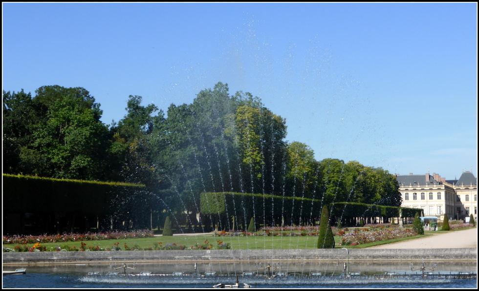 Balade dans les jardins du château de Lunéville ( 54 ) N°2