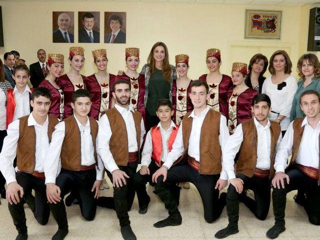 Rania et les arméniens