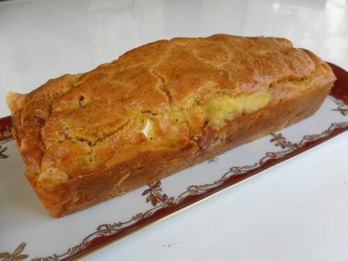 *** Cake au camembert et au jambon ***