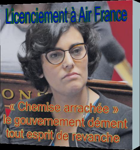 Licenciement à Air France