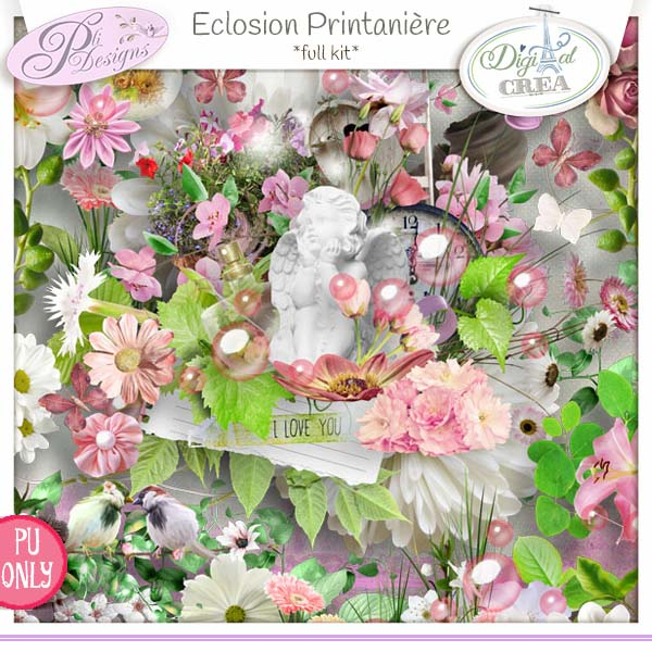 Eclosion printanière by Pli Designs